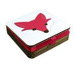 Bouw een doosje: Fox  Karton  Interieurdecoratie