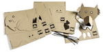 Dierenmaskers  Karton  Speelgoed / creatief