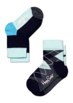duo pack: blauwe ruiten + blauwe vlakken  Kousen  Kousen/sokken