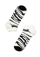 Enkelkousjes/golfsokjes zebra  Kousen