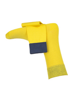 Fijne herensokken Spiekeroog (yellow)  Kousen  Kousen/sokken