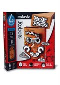 Gezichten: Robots  Karton  Speelgoed / creatief