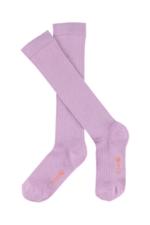 JORDAN knee socks - sheer lilac  Kousen  Kniekousen