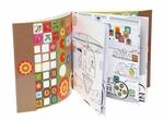 Kleurboek met stickers - Vehicules extraordinaires  Karton  Speelgoed / creatief