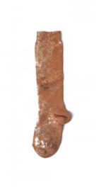 Kniekousen Thunbergia brown/rosé  Kousen  Kniekousen