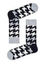 Kousen Dogtooth zwart/wit  Kousen  Kousen/sokken