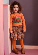 Kousenbroek Marcia orange-ochre  Kousen  Kousenbroeken - Panty's