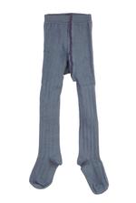 Kousenbroek met brede rib Flint / Grijsblauw  Kousen  Kousenbroeken - Panty's