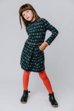 Kousenbroek met opliggend harlekijn motief Red  Kousen  Kousenbroeken - Panty's