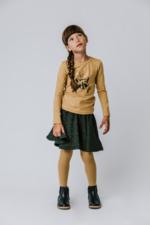 Kousenbroek met opliggend harlekijn motief Yellow  Kousen  Kousenbroeken - Panty's