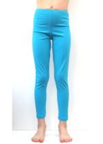 Lange legging licht blauw  Kousen