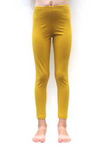 Lange legging Oker  Kousen  Leggings
