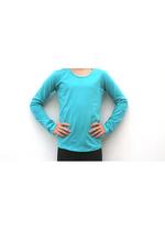 Longsleeve appelblauwzeegroen/mint  Kousen  Shirts
