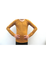 Longsleeve Cognac  Kousen  Shirts