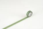 maskin tape/washi tape diamant zilver/groen  Karton  Masking tape/Washi tape