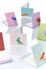 Notaboekje Olifant  Karton  Kaartjes enzo