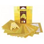 Origami geel  Karton