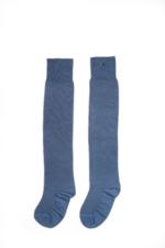 Over the knee kniekous Barbara Stripesand jeans  Kousen
