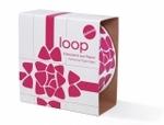 Paper_loop : rood op wit  Karton  Speelgoed / creatief