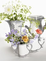Paper vase Rosas  Karton  Interieurdecoratie