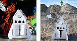 Raket naar de maan  Karton  Speelgoed / creatief