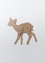 Schuifbeest Hert  Karton  Speelgoed / creatief