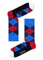 Sokken Argyle blauw rood wit  Kousen  Kousen/sokken