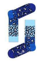 Sokken Block Leopard blauw  Kousen  Kousen/sokken