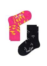 Sokken duo pack Cloud pink/ umbrella black  Kousen  Kousen/sokken