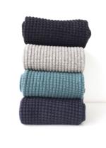 Sokken Dusty Green waffle  Kousen  Kousen/sokken
