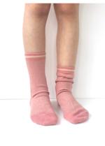 Sokken Dusty Rose glitter Gerda  Kousen
