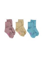 sokken Edena 3-pack glitter  Kousen  Kousen/sokken