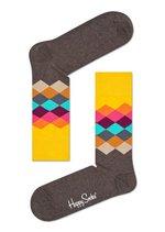 Sokken Faded Diamond brown multi  Kousen  Kousen/sokken