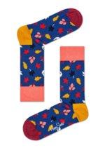Sokken Fall Blue/oker/peach  Kousen  Kousen/sokken