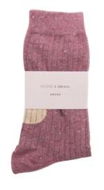Sokken Glitter Burgundy  Kousen  Kousen/sokken