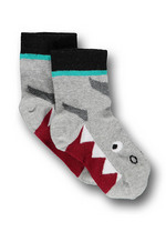 Sokken Haai licht grijs  Kousen  Kousen/sokken