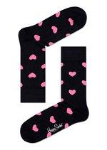 Sokken Heart black/fuchsia  Kousen  Kousen/sokken
