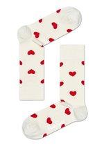 Sokken Heart white/red  Kousen  Kousen/sokken