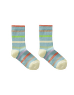 Sokken Marabou stripe blue  Kousen