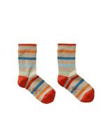 Sokken Marabou stripe taupe  Kousen  Kousen/sokken