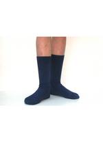 Sokken met fijne rib Inkt  Kousen  Kousen/sokken