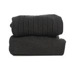 Sokken met fijne rib zwart  Kousen  Kousen/sokken