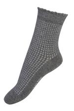 Sokken met speciale structuur grey  Kousen  Kousen/sokken
