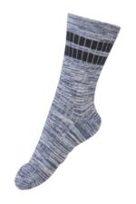 Sokken Mouliné Sport Stripe navy  Kousen  Kousen/sokken
