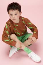 Sokken Nico - Poison Green  Kousen  Kousen/sokken