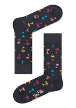 Sokken Palm Beach antraciet/multi  Kousen  Kousen/sokken