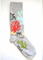 Sokken Sea Life grey  Kousen