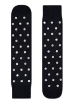 Sokken Special Special Metallic Black dot Silver  Kousen  Kousen/sokken