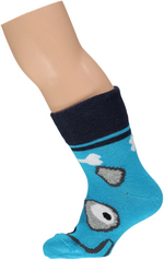 sokken talkie walkie hond turquoise  Kousen