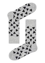 Sokken Triangle Grey  Kousen